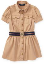 Polo Ralph Lauren Chino Shirt Dress (2-7 Years)