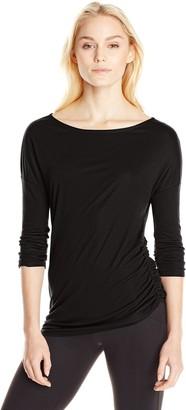 Three Dots Women's Kylie Long Sleeve Tunic
