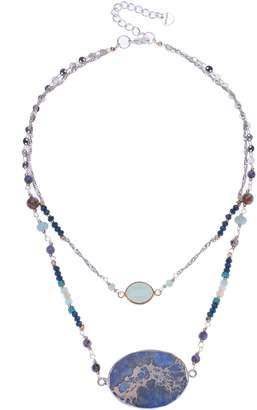 Nakamol Chicago Agate Layered Necklace