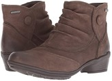 Rockport Raven Waterproof Button Boot (Stone Nubuck) Women's Boots