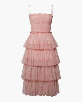 Jonathan Simkhai Haryln Tulle Midi Dress