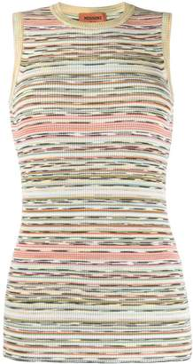 Missoni ribbed knit top