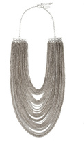 Cara Accessories Silver Spring Chain Necklace