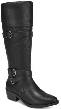 Easy Street Shoes Kelsa Wide-Calf Riding Boots Women's Shoes