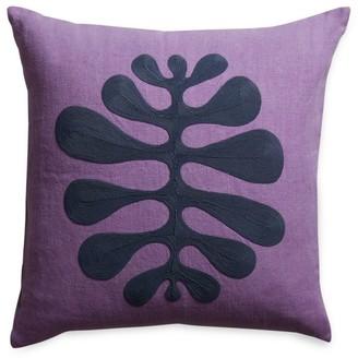 Jonathan Adler Amoeba Medallion Linen Pillow