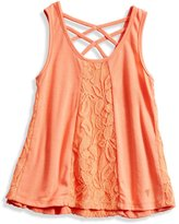 GUESS Lace-Inset Tank (2-6x)
