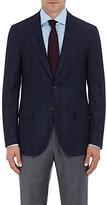 Isaia Men's Plaid Wool-Cashmere Sanita Sportcoat-NAVY