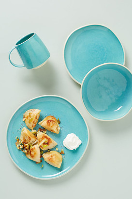 Anthropologie Mary Jo Dinner Plates, Set of 4 By in Blue Size S/4 dinner
