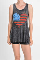 T-Party Fashion Mineral Washed Tank