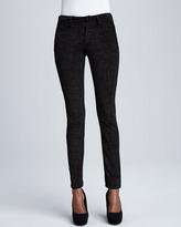 Christopher Blue Sophia Disco Animal-Print Skinny Jeans