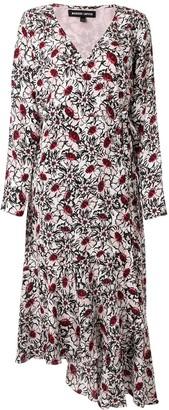 Markus Lupfer Floral Asymmetric Dress