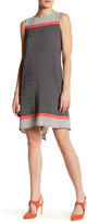 Robbie Bee Colorblock Trapeze Dress