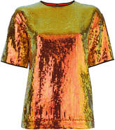 Victoria Victoria Beckham sequin T-shirt