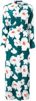 Equipment floral print maxi dress - women - Silk - M