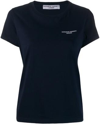 Katharine Hamnett classic logo T-shirt