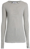 Raey Long-sleeved striped ribbed T-shirt
