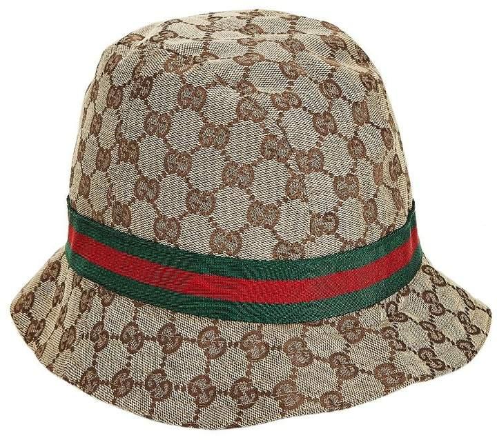 5ac0ab04a Original GG Canvas Web Bucket Hat