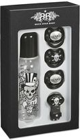 Rock Star Baby Tattoo Pirate Bottle & Pacifier Set