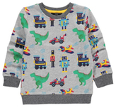 George Dinosaur Robot Sweatshirt