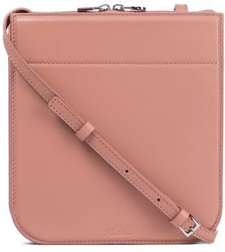 Loro Piana My Way Mini leather crossbody bag