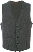 Barena welt pockets knitted vest