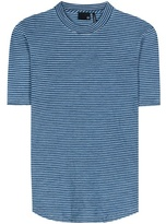 AG Jeans Cone striped cotton T-shirt