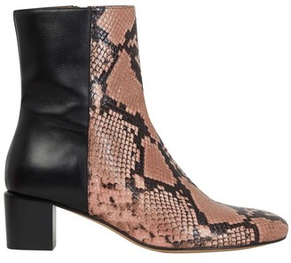 Vanessa Bruno Bi-material ankle boots