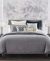 hotel collection connection cotton indigo fullqueen duvet cover created for macyu0027s bedding