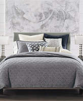Hotel Collection Connection Cotton Indigo King Duvet Cover, Created for Macy's