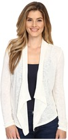Calvin Klein Jeans Linen Look Mixed Media Cardigan