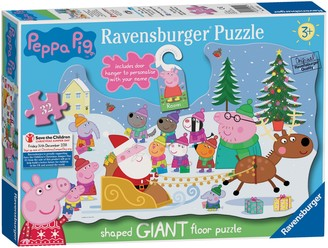 Peppa Pig Ravensburger Christmas Floor Jigsaw Puzzle, 32 Pieces