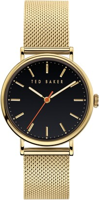 Ted Baker Phylipa Mesh Strap Watch, 37mm