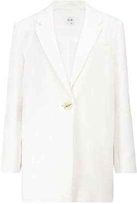 Sir. Jacque cotton-blend blazer