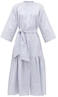 Max Mara Nerina Dress - Womens - Blue White