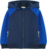 Stella McCartney Neoprene jacket with a removable hood
