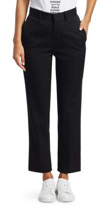 Vetements Wool-Blend Push-Up Tailored Pants