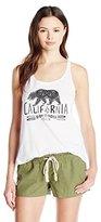 Volcom Junior's California Bear Swirl Renew Graphic Tank