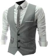 CFD Men Casual Slim Fit Pocket Vest L