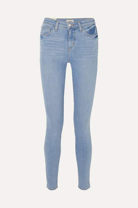 L'Agence Marguerite High-rise Skinny Jeans - Light denim