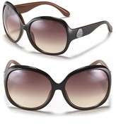 MARC BY MARC JACOBS Two-Color Miss Marc Round Oversized Sunglasses