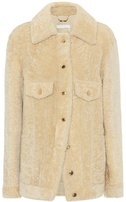 Chloé Shearling shirt jacket