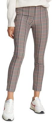 Rag & Bone Simone Cropped Check Pants