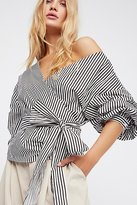 Style Mafia Madeline Wrap Top by at Free People