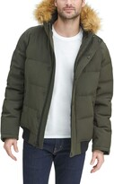 Thumbnail for your product : Tommy Hilfiger Men's Arctic Cloth Quilted Snorkel Bomber Jacket