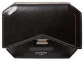 Givenchy Bow-Cut Leather Wallet On A Chain