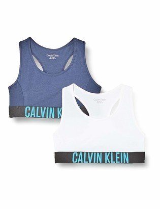 Calvin Klein Girl's 2PK Bralette Bra