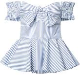 Caroline Constas striped top