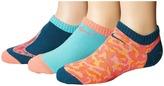 Nike Performance Lightweight No Show 3-Pair Socks Girls Shoes