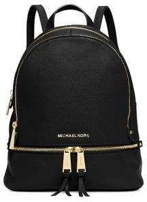 MICHAEL Michael Kors Rhea Zip Leather Backpack