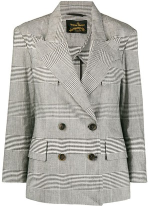 Vivienne Westwood Double-Breasted Checked Jacket